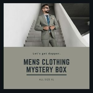 Semi Mystery Box of Mens Shirts and Sweaters